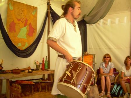 Le tambour était très utilisé