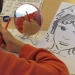 Malik crée à partir de son portrait